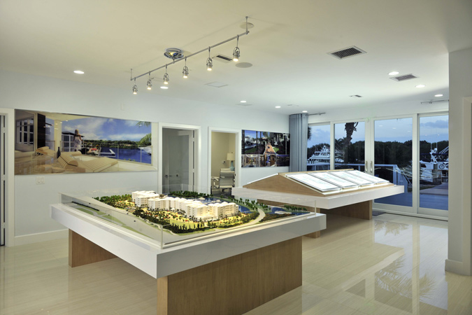 Sales Centers and Displays