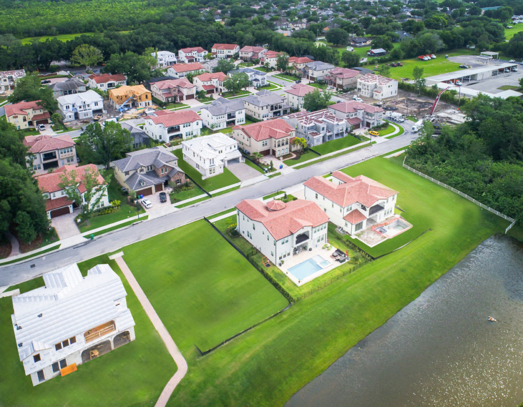 Drone Photos New Homes in Orlando Florida