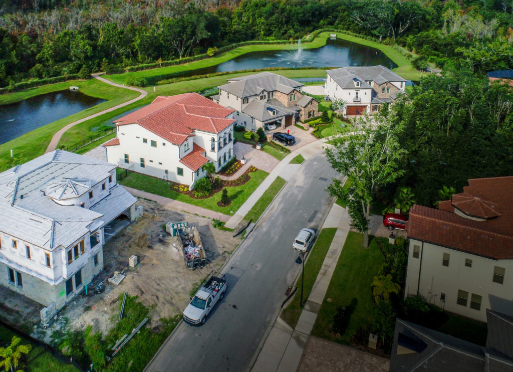 Drone photos boost new home sales