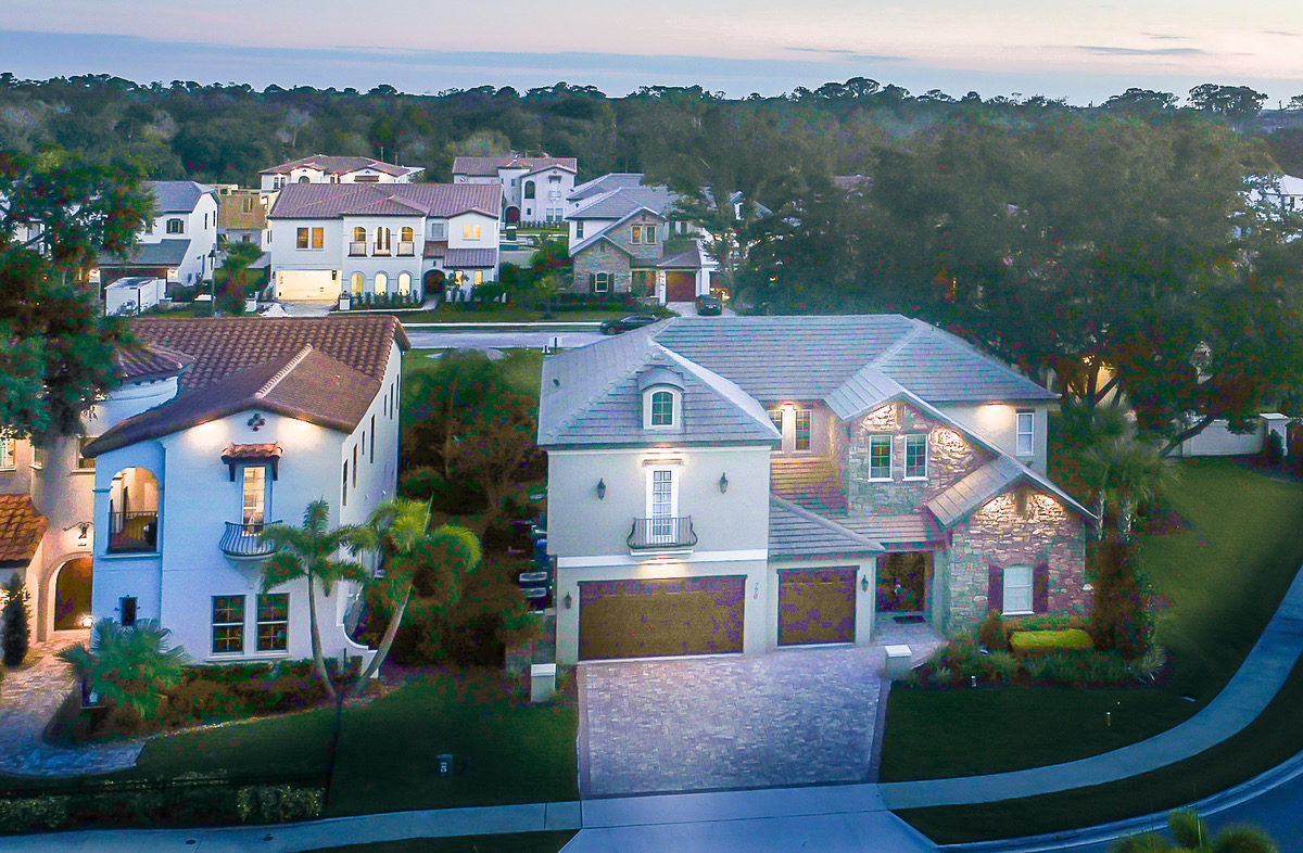 Drone Photo of new home for sale